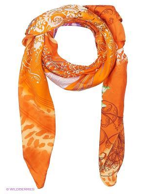 Платок женский Sabellino. Цвет: оранжевый