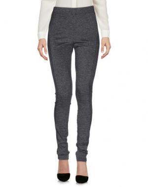 Повседневные брюки THREE DOTS. Цвет: серый