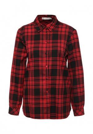 Рубашка NewLily. Цвет: бордовый