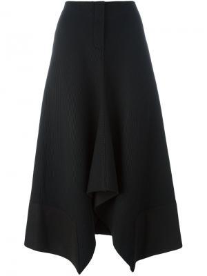 Драпированная юбка Ter Et Bantine. Цвет: чёрный