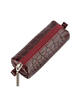 Ключница Timeless (130х45х35) (бордовый крокодил). Цвет: бордовый