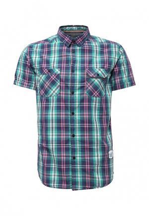 Рубашка Bruebeck. Цвет: разноцветный