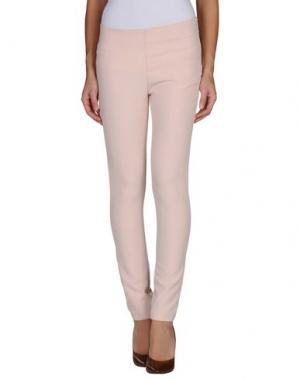 Повседневные брюки H²O LUXURY. Цвет: светло-розовый