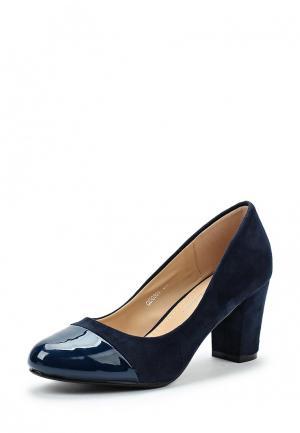 Туфли Mellisa. Цвет: синий