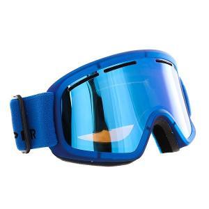 Маска для сноуборда  Trike Mono Blue/Sky Chrome Von Zipper. Цвет: синий