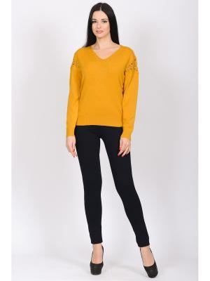 Пуловер Modaleto. Цвет: оранжевый