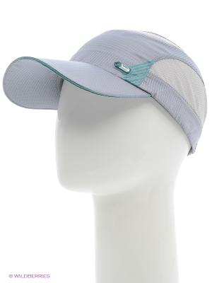 Бейсболка Maxval. Цвет: серый, голубой