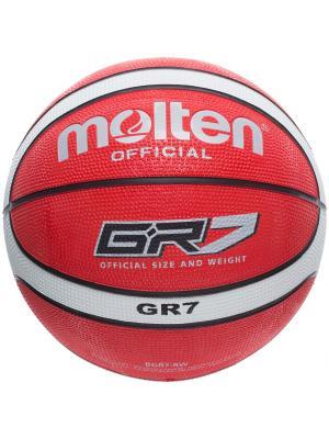 Мяч Molten. Цвет: красный
