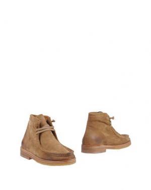 Полусапоги и высокие ботинки N.D.C. MADE BY HAND. Цвет: верблюжий