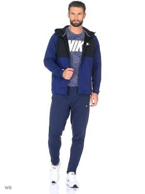 Толстовка M NSW AV15 HOODIE FZ FLC Nike. Цвет: синий