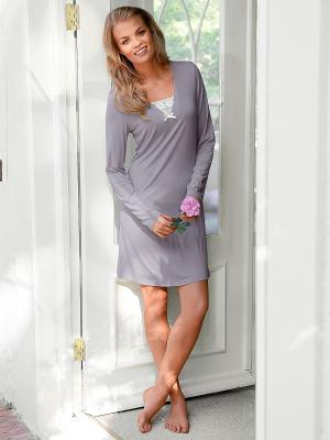 Платье Marie Claire. Цвет: бежевый