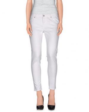 Джинсовые брюки BLAUER. Цвет: белый