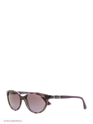 Очки солнцезащитные 0VO2894SB-23548H Vogue. Цвет: коричневый, фиолетовый