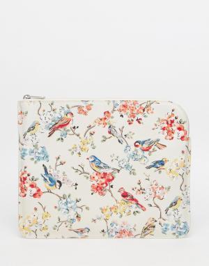Cath Kidston Чехол для большого тонкого планшетника / iPad Kindle. Цвет: кремовый