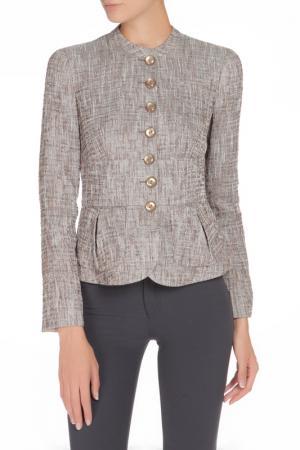 Жакет Armani Collezioni. Цвет: серый, коричневый