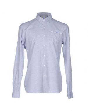 Pубашка D.R SHIRT. Цвет: небесно-голубой
