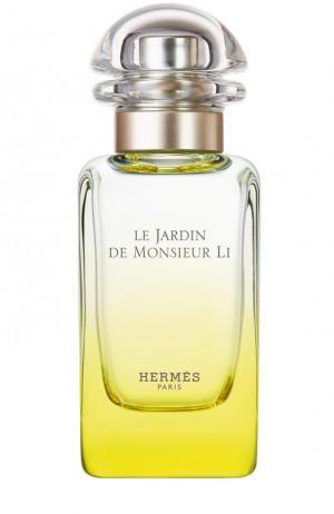 Туалетная вода спрей Le Jardin de Monsieur Li Hermès. Цвет: бесцветный