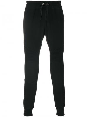 Классические спортивные брюки Hydrogen. Цвет: чёрный