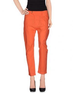 Повседневные брюки CYCLE. Цвет: коралловый
