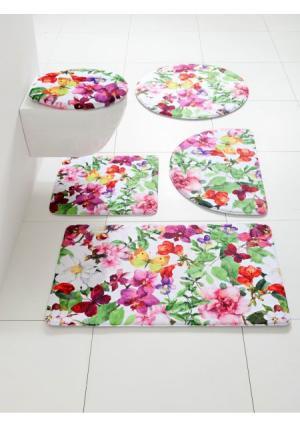 Коврик для ванной Heine Home. Цвет: цветной