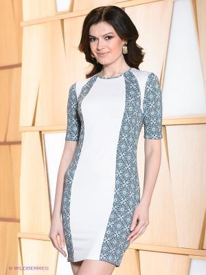 Платье Hammond. Цвет: серый, бирюзовый