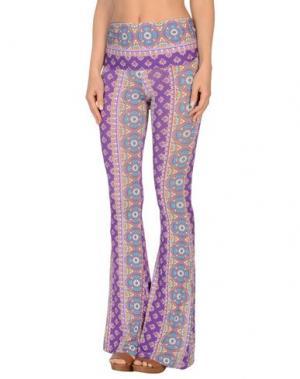 Пляжные брюки и шорты MC2 SAINT BARTH. Цвет: фиолетовый