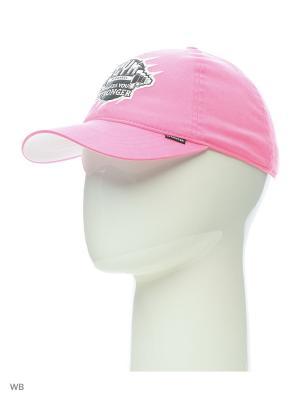 Бейсболка Maxval. Цвет: розовый