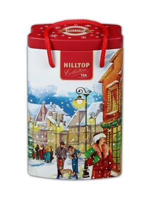 Чай Hilltop банка-пакет За подарками Эрл Грей  125г.. Цвет: черный
