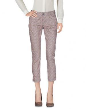 Повседневные брюки RRD. Цвет: пастельно-розовый