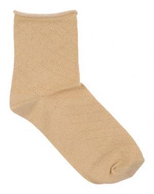 Короткие носки POLDER. Цвет: песочный