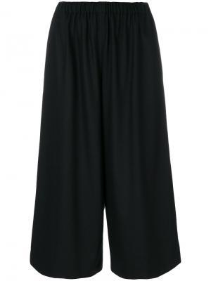 Укороченные брюки клеш Comme Des Garçons. Цвет: чёрный