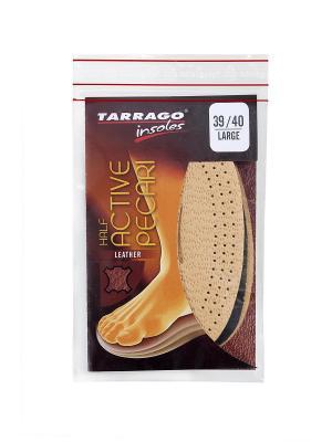 Полустельки кожаные Active Pecari Tarrago. Цвет: бежевый