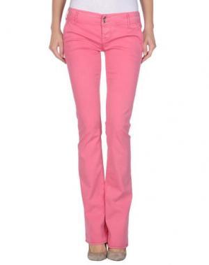 Повседневные брюки CYCLE. Цвет: розовый