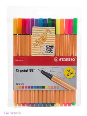 Набор ручек Stabilo. Цвет: оранжевый, белый