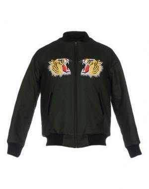Куртка LC23. Цвет: темно-зеленый