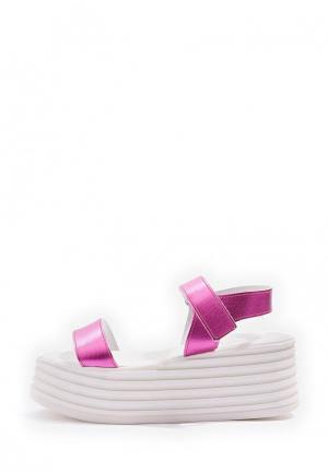 Босоножки Topshop. Цвет: розовый