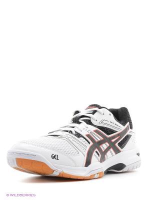 Кроссовки GEL-ROCKET 7 ASICS. Цвет: белый, черный, красный
