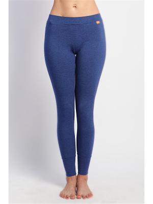 Штаны женские Бали yogadress. Цвет: темно-синий
