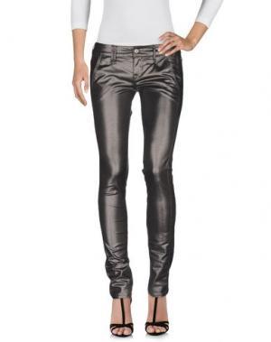 Джинсовые брюки CYCLE. Цвет: стальной серый