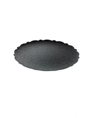 Поднос ALESSI. Цвет: черный