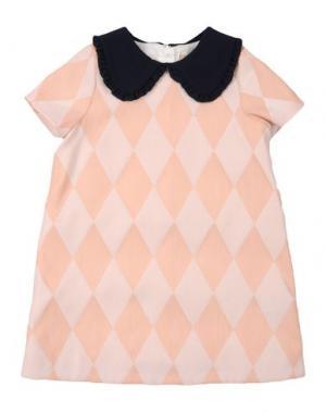 Платье HUCKLEBONES. Цвет: лососево-розовый