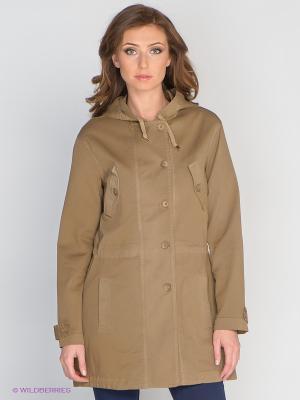 Пальто COMPAGNIA ITALIANA. Цвет: коричневый