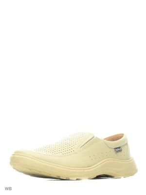 Ботинки Shoiberg. Цвет: молочный