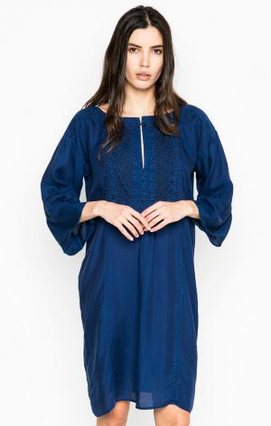 Платье DRYKORN. Цвет: синий