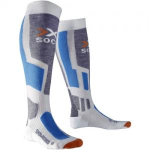 Термо-Носки X-Socks. Цвет: white/skyblue/pearlgrey