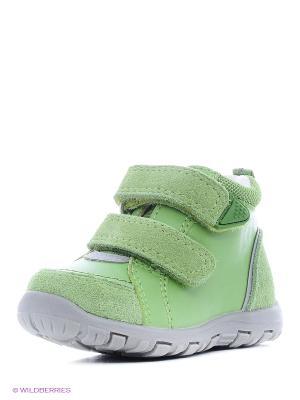 Ботинки Reima. Цвет: зеленый