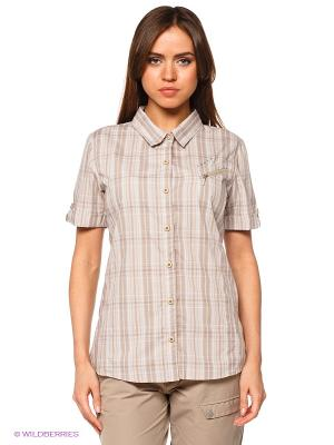 Рубашка Luhta. Цвет: светло-бежевый
