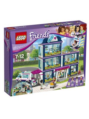LEGO Friends Клиника Хартлейк-Сити 41318. Цвет: синий