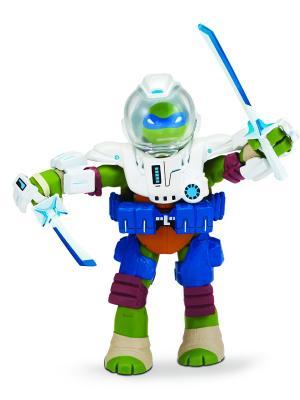 Черепашки-ниндзя 10-12 см Леонардо, Измерение Х Playmates toys. Цвет: зеленый
