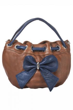 Сумка Giancarlo Bassi. Цвет: leather and blue